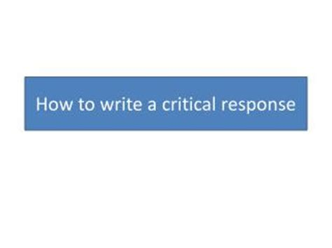 How to write a critical analysis dissertation